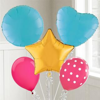Solid Color Balloons 21 Colors