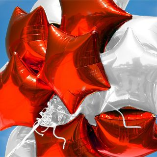 Solid Color Balloons in 21 Colors