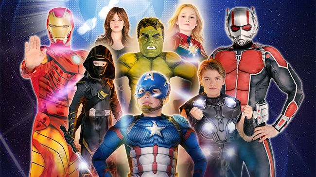 Marvel Halloween Costumes Diy.Group Family Character Halloween Costumes Party City