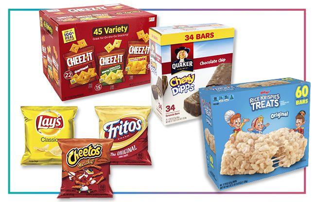 Sweet & Salty Snack Foods