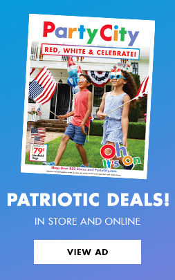 Patriotic Deals! In Store and Online