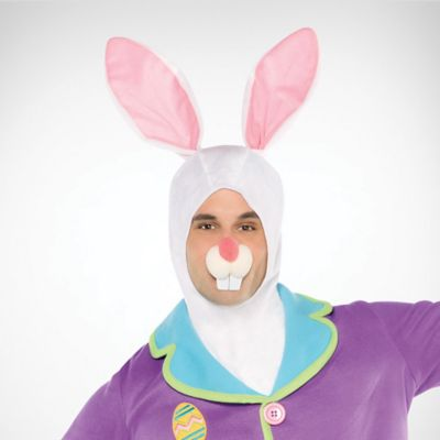 New Easter Rabbit Bunny DIY Sun Hat w Ears Costume Party Kids Mask Cap