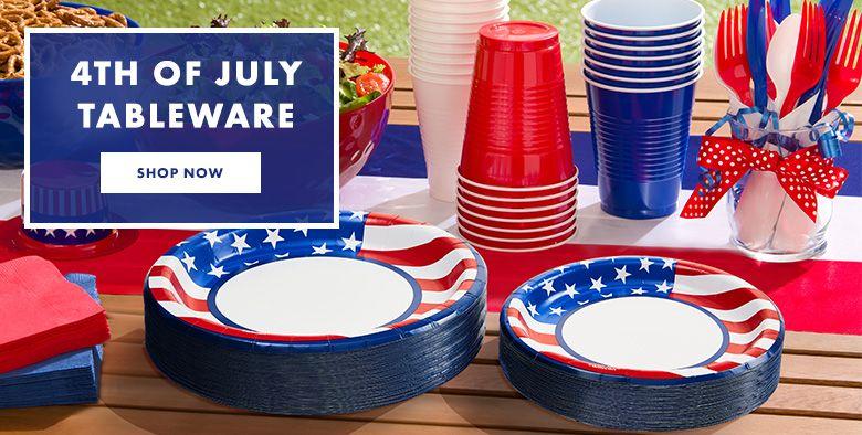 4th of July Tableware