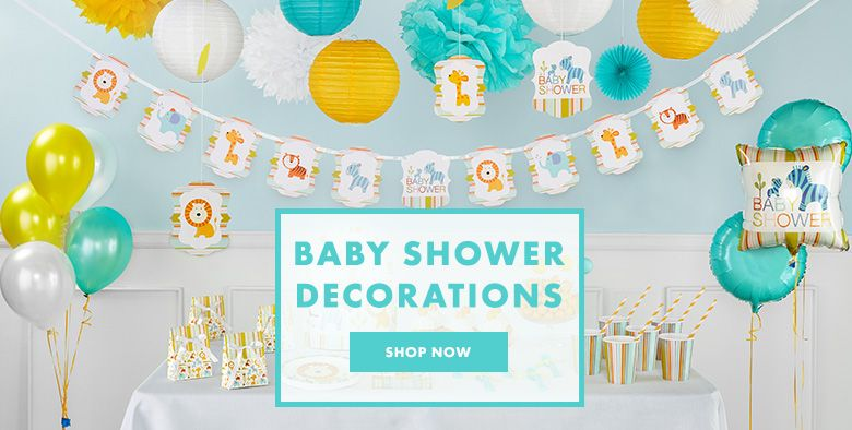 Baby shower party supplies baby shower decorations party city baby shower supplies filmwisefo