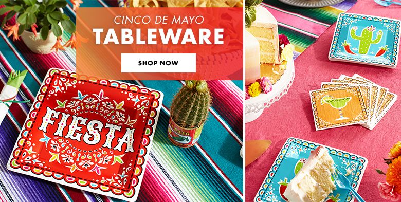 Cinco de Mayo Tableware