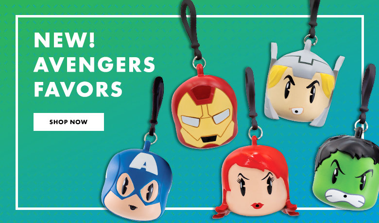 Avengers Party Favors