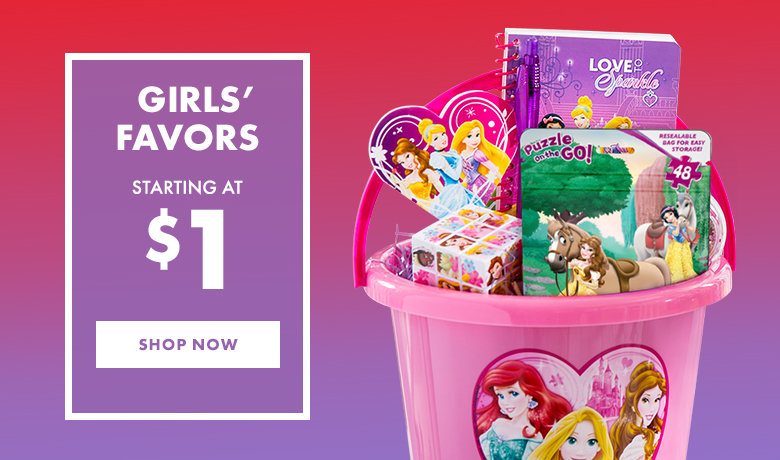 Girls' Party Favors