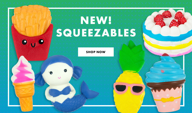 New! Squeezables