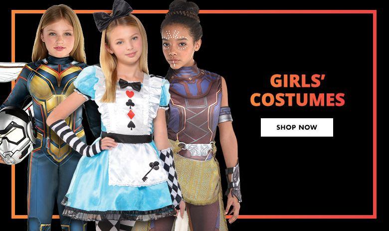Girls' Top Costumes