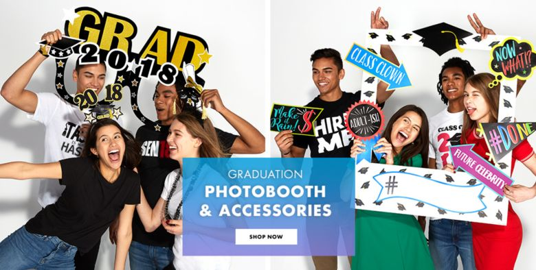 Graduation Photo Booth Supplies
