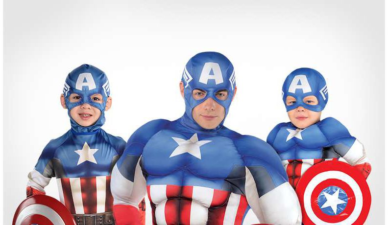 Truth, Justice, And Captain America Costumes!