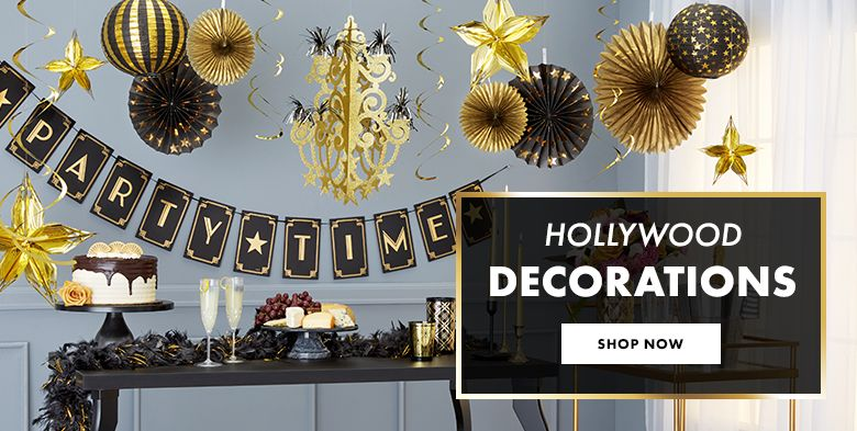 Hollywood Theme Party Supplies