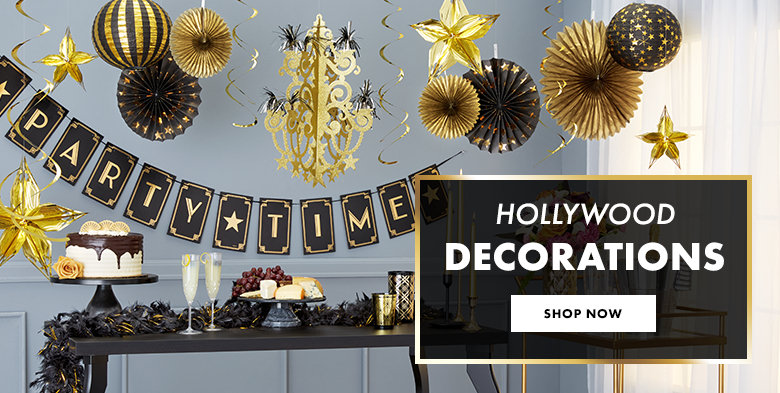 Hollywood Decorations Shop Now