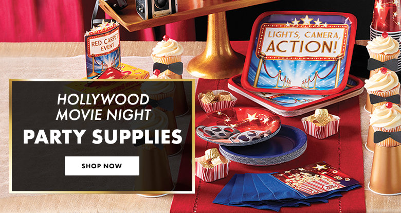 Lights Camera Action Party Supplies Shop Now