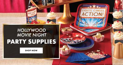 Hollywood Decorations Shop Now; Dine With The Stars Hollywood Party  Supplies Shop Now; Lights Camera Action Party Supplies Shop Now. «»