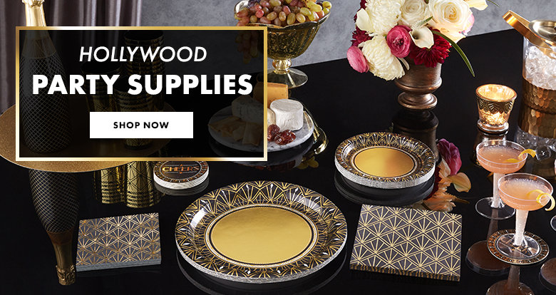 Dine With The Stars Hollywood Party Supplies Shop Now