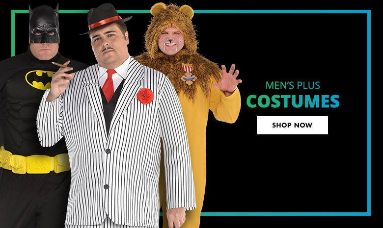 Top Men's Plus Costumes