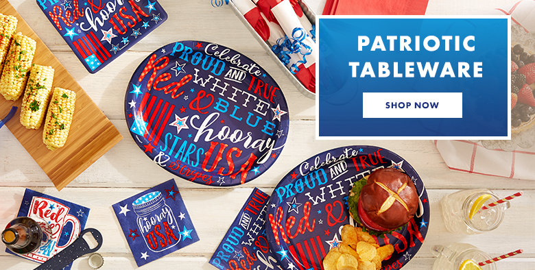 Patriotic Tableware