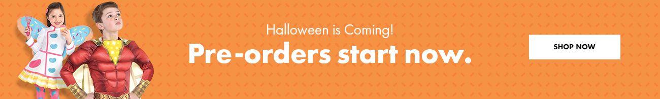 Halloween is Coming! Pre-orders start now.