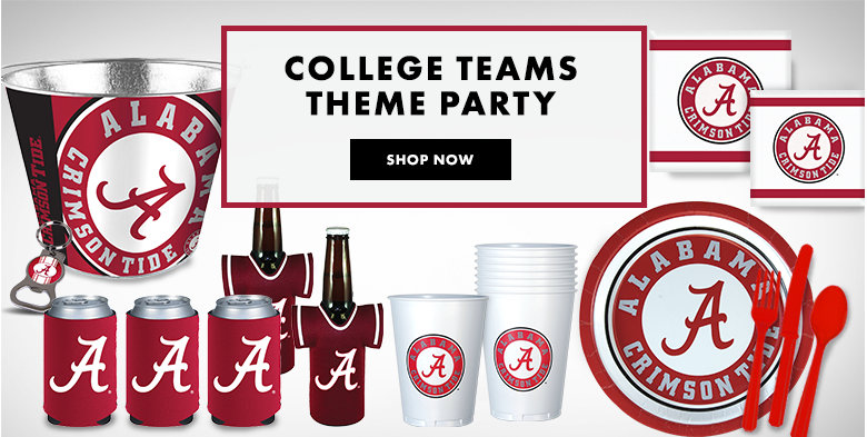 College Party Supplies