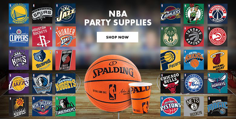 NBA Party Supplies Shop Now