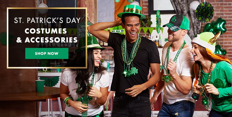 St. Patrick's Day Costumes & Accessories