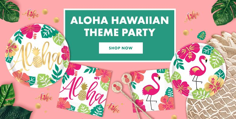 Aloha Hawaiian Theme Party