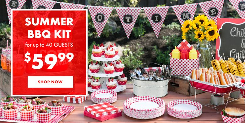 Gingham Picnic Theme Party