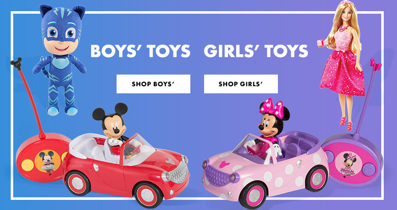 Toys for boys and girls