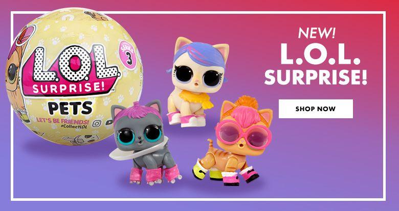 New Toys! Trending Now: LOL Surprise