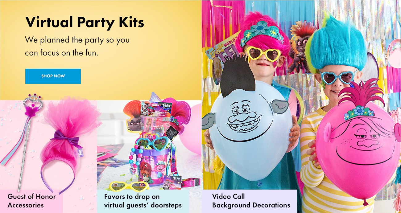 Drive By Virtual Party Party City
