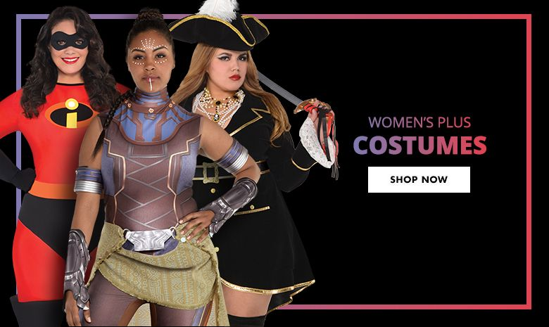 Top Women's Plus Costumes