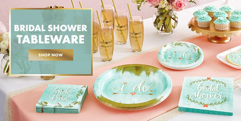 Bridal shower supplies bridal shower themes for Where can i buy wedding decorations