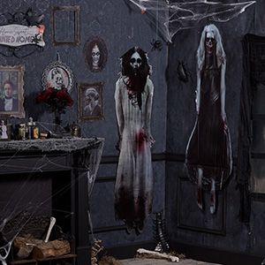 Halloween Haunted House Decorations Props Supplies
