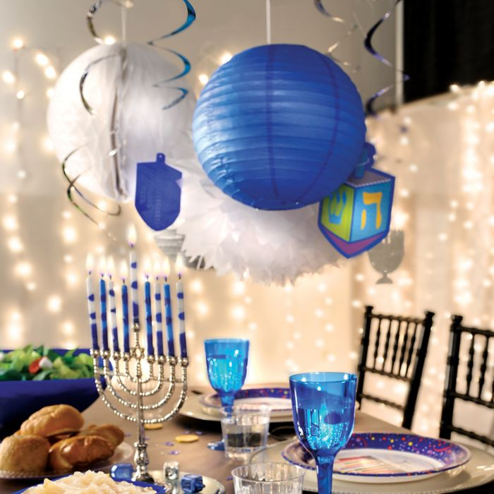 Hanukkah Decorations Party Supplies