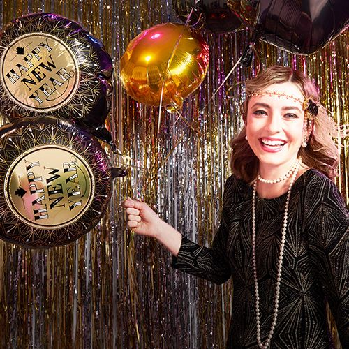 New Year's Eve Great Gatsby Theme Party