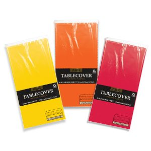 5 for $5 Solid Color Table Covers