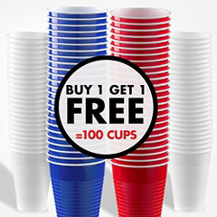 Buy 1 Get 1 Free Cups