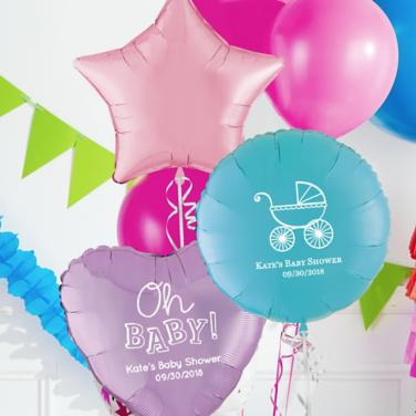 Personalized Baby Shower Balloons
