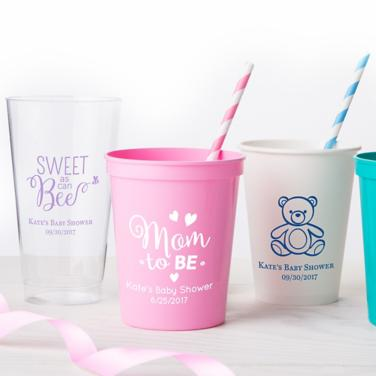 Personalized Baby Shower Cups