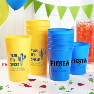 Personalized Cinco de Mayo Cups