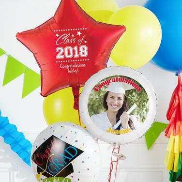 Personalized Graduation Balloons