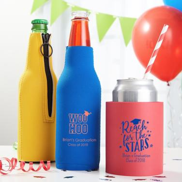 Personalized Graduation Coozies