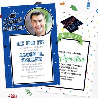 Custom Graduation Invitations