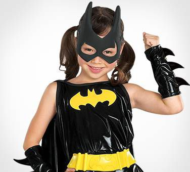 Kids Love Suiting Up As Batgirl!