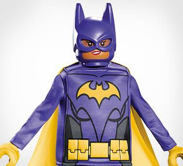 Everything Is Awesome In A Lego Batgirl Costume!