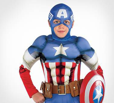 Super Soldier In Stars And Stripes