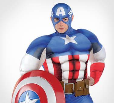This Superhero's The Sentinel Of Liberty!