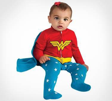 An Adorable Wonder Woman Costume