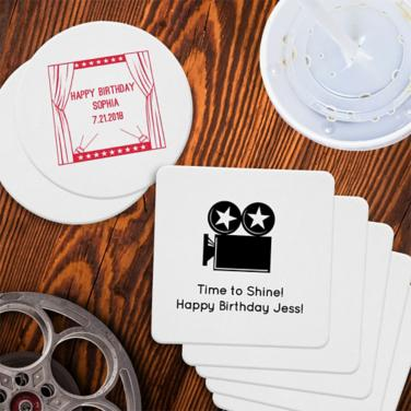 Personalized Hollywood Coasters